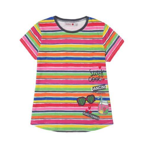 455116  Gr Boboli Tshirt Art.-Nr 98-164 Neu Sommer bunt gestreift T Shirt