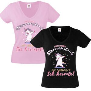 Das Bild wird geladen Einhorn-Junggesellinnenabschied-T-Shirt-Damen-JGA- Shirt-Braut- 4ce3a292f9