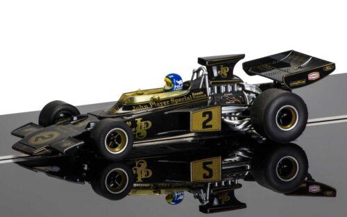 Scalextric-C3703A JPS Team Lotus 72 NEUF Noir//Or