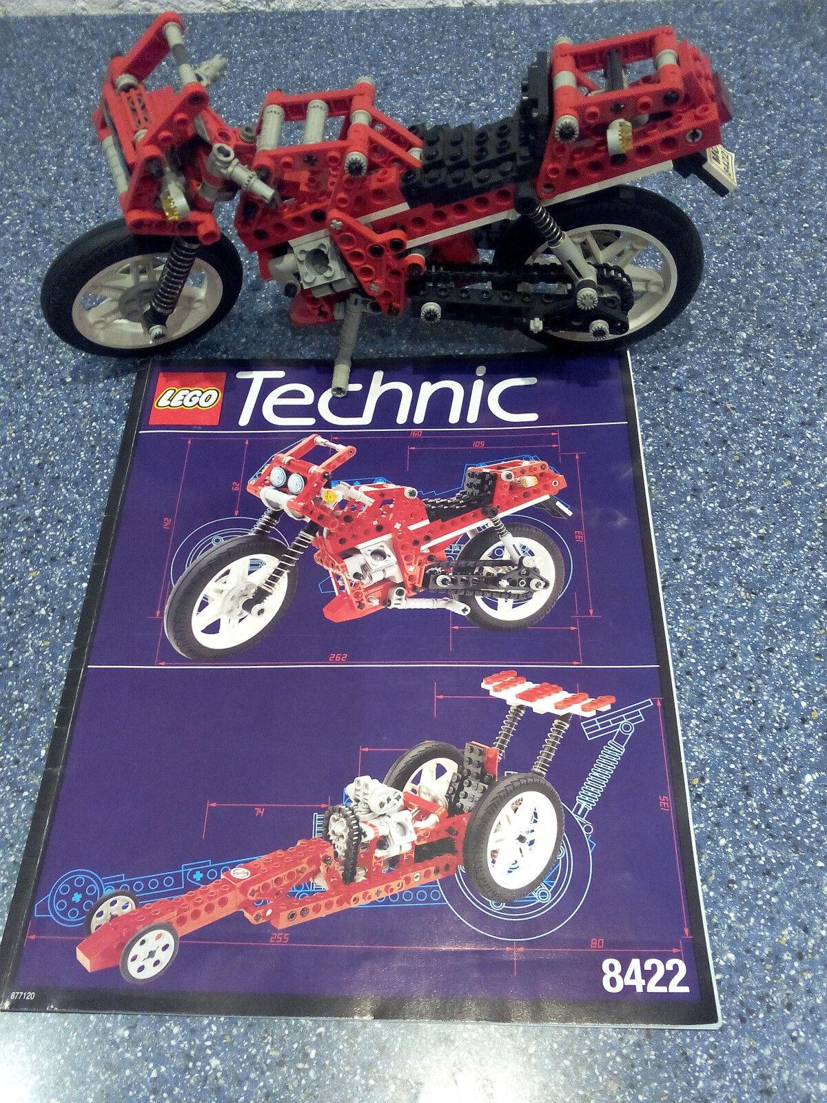 Lego Technic Technik 8422 Circuit Shock Racer   GUTER ZUSTAND - Rarität