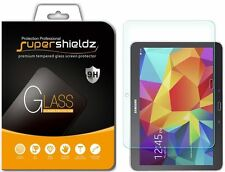 [2-Pack] Supershieldz Samsung Galaxy Tab 4 10.1 Tempered Glass Screen Protector