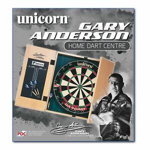 Unicorn Unisex Gary Anderson Home Darts Centre Dart Board Sports Sport Wooden