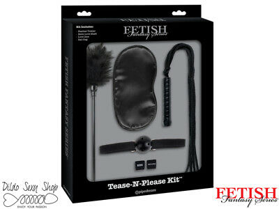 Sexual Wellness Fantasy, Fetish & Accessories Kit Bdsm Sadomaso Costrittivo Fetish Fantasy Limited Edition Tease-n-please Kit