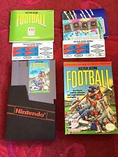Play Action Football Used NES Nintendo Game Complete with Box + Manual Excellent