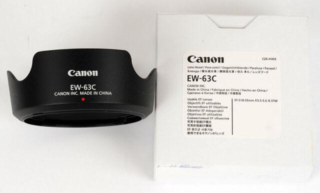 CANON paresoleil EW63C pour EF-S 18-55 IS STM