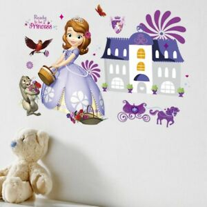 Princess Sofia House Cartoon Wall