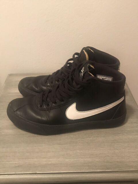 balcón Movimiento paquete  Nike SB Bruin High Lacey Baker All Eyes on You Black White Skate Womens  Size 8.5 for sale online   eBay