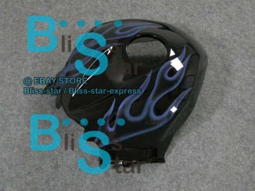 Blue Flames INJECTION Fairing Bodywork Kit Fit  CBR600RR 2007-2008 32 B7