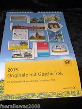 Deutschland offizieller Jahreskalender 2015 der Deutschen Post + Marken 46x30 cm
