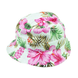 Image is loading Tropical-Flower-Floral-Pattern-One-Size-Hawaiian-Beach- ef21ca17f910