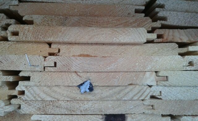 Timber shiplap and cladding