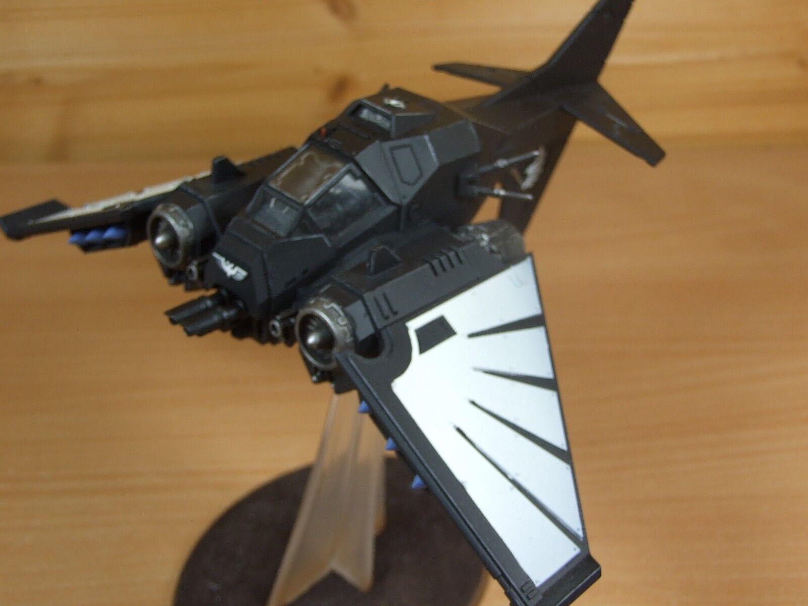 Plastique Dark Angels RAVENWING Nephilim jetfighter bien peint (L)