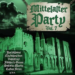 MITTELALTER-PARTY-VOL-7-VII-CD-2015-Versengold-OMNIA-Saltatio-Mortis