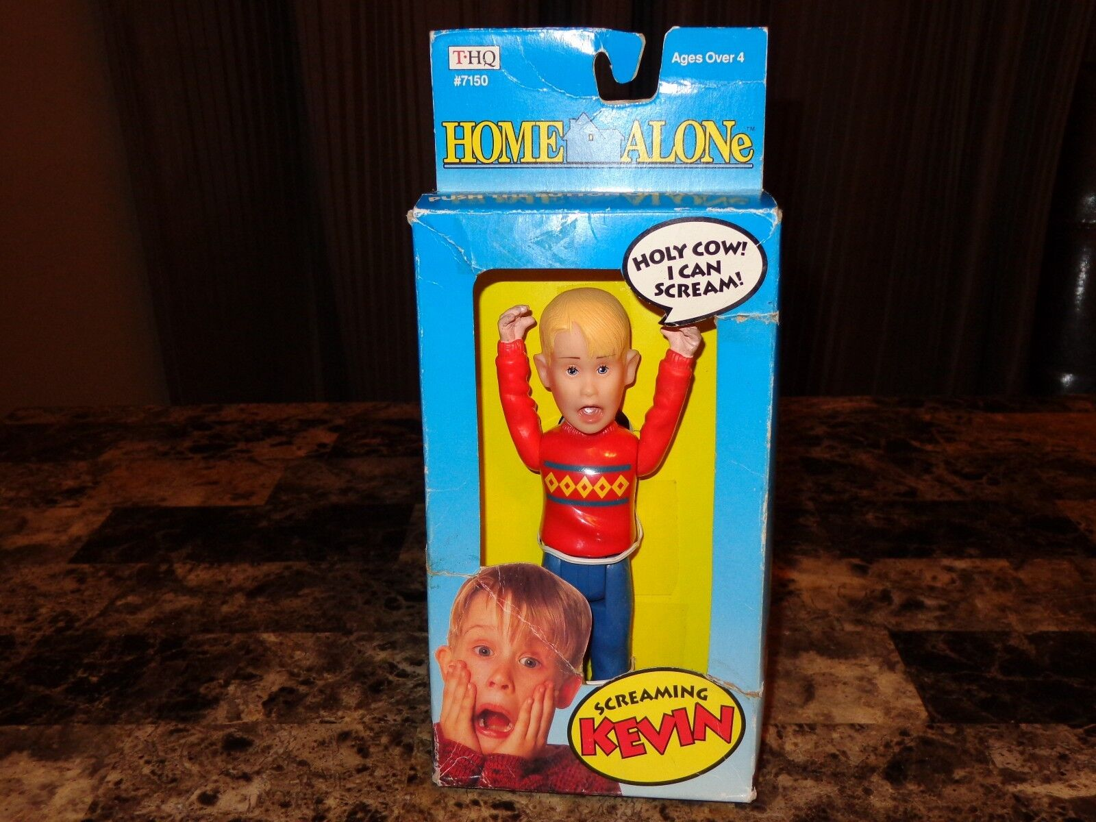 Home Alone Rare Kevin Action Figure 1991 Christmas Movie Story Macaulay Culkin