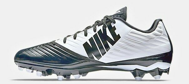 b7907763115b Nike Mens Vapor Speed Low TD Molded Football Cleats White black Sz 12.5 for  sale online