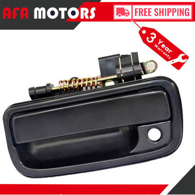 Outside Door Handle Black Front Right Passenger Side Exterior Textured