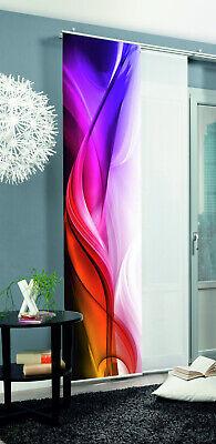 Flächenvorhang Schiebevorhang bedruckt 60x245cm Halifax multicolor abstrakt