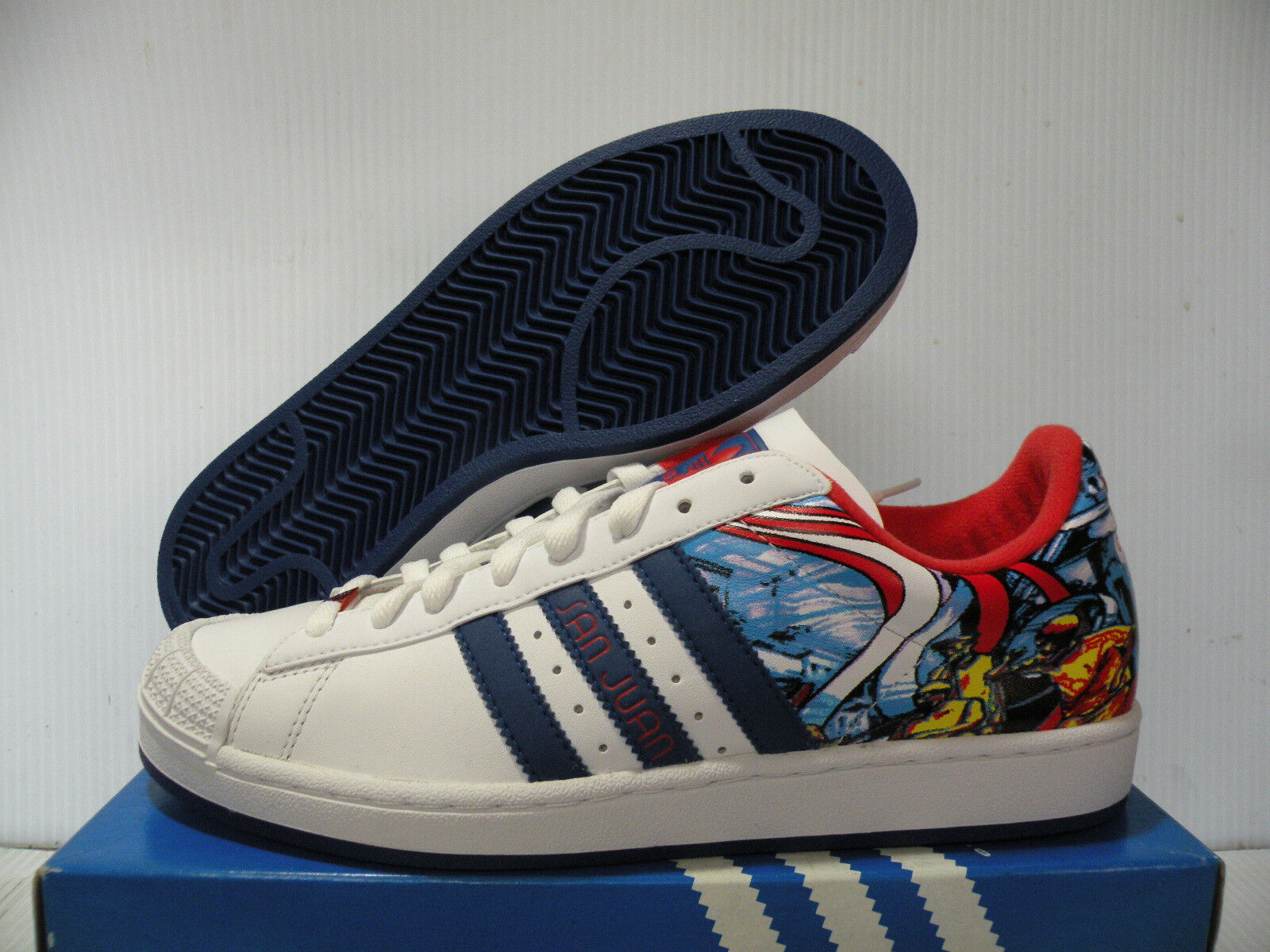 Adidas half-shells citt san juan scarpe 7 uomini scarpe bianche 562386 7 scarpe nuove dimensioni 785d4d