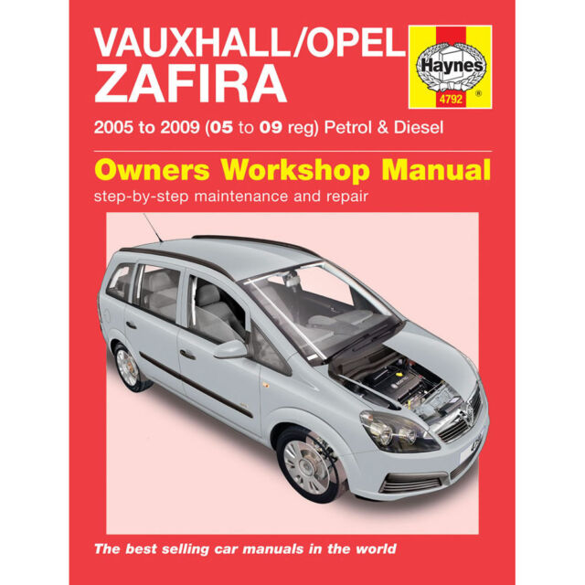 haynes service repair manual vauxhall opel zafira petrol diesel rh ebay co uk Auto Repair Manuals Online Auto Repair Manuals Online