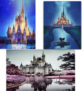 5D-Diy-Diamond-Painting-Disney-Castle-Cartoon-Mickey-Full-Drill-Embroidery-Decor