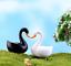 thumbnail 7 - Mini Swan Figurine Fairy Garden Ornaments Crafts Goose Model Miniature Animal