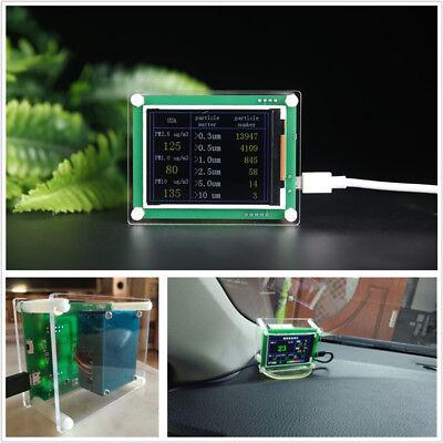 "5V 2.8/"" LCD Digital Home Car PM2.5 Detector Tester Meter Air Quality AQI Monitor"
