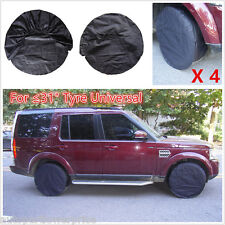 """4pcs Set Auto SUV Pick-up RUOTA GOMMA PNEUMATICO copre raincoves per diametro ≤ 31"""" PNEUMATICO"""