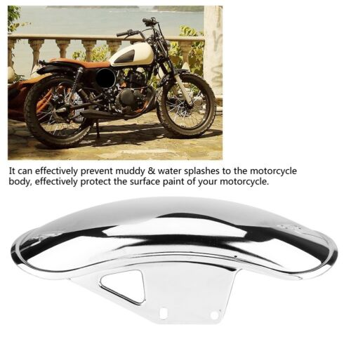 Motorcycle Front Fender Mudguard Fairing Mud Guard Chrome For Suzuki GN125 GN250