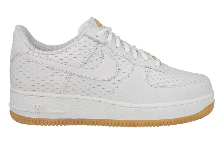 Nike Women's AIR FORCE 1 '07 PREMIUM Shoes NEW AUTHENTIC White 616725-104