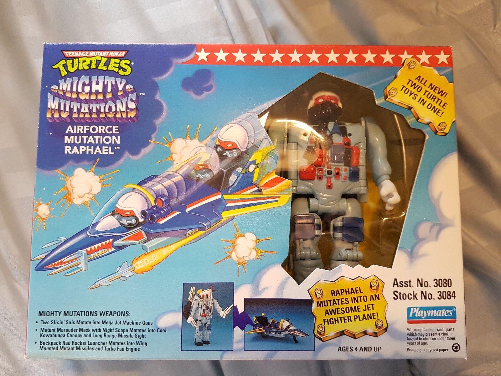 tienda de venta Teenage Mutant Ninja Turtles Mighty mutaciones Fuerza Aérea Aérea Aérea mutación Raphael Nuevo  están haciendo actividades de descuento