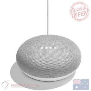 Genuine-Google-Home-Mini-Smart-Home-Assistant-amp-Speaker-Chalk-New