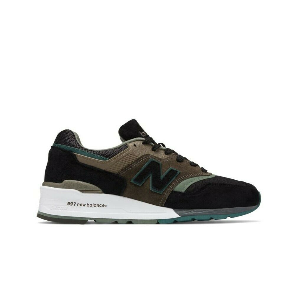 New Balance M997 Made in USA M997PAA (Black Cogreen Green) Men's shoes