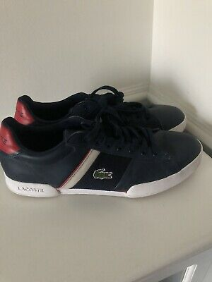 Mens Lacoste Trainers Size Uk 9 | eBay