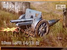 IBG Models 1:35 10cm LeFH 14/19 (t) Howitzer Gun Model Kit