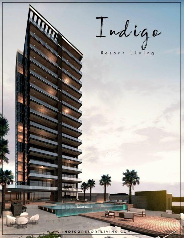 Departamento de lujo en Torre Indigo - Tipo PH1