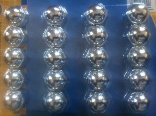 caches capuchons ecrous de roues 17 mm chrome  RENAULT CLIO I