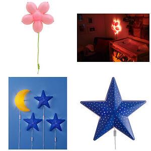 ikea smila kinder weich stimmung energiespar wand lampen. Black Bedroom Furniture Sets. Home Design Ideas