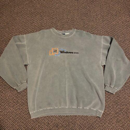 Vintage Microsoft Windows 2000 Sweatshirt