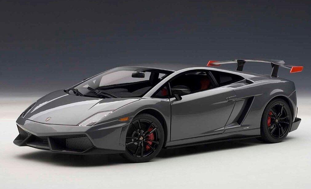 74692 Autoart 1 18 Lamborghini Gallardo LP570-4 Súper Trofeo Stradale grigio