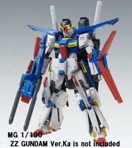 Premium-Bandai-MG-1-100-Gundam-Enhanced-Expansion-Parts-for-ZZ-ver-Ka-Model-Kit