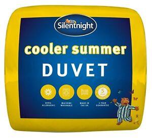 Silentnight Cooler Summer 4.5 Tog Bed Duvet Quilt Lightweight Soft Snug Cosy