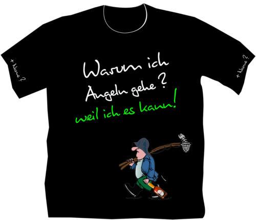 Anglershirt Angeln T-Shirt Angler Geburtstag lustiges Funshirt Bekleidung 139