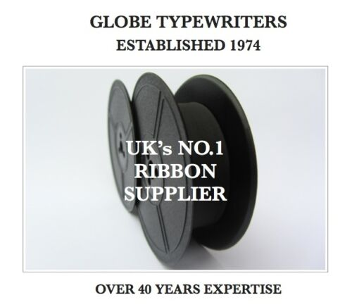 1 x 'TRIUMPH GABRIELE 25' BLACK TOP QUALITY 10 METRE TYPEWRITER RIBBON