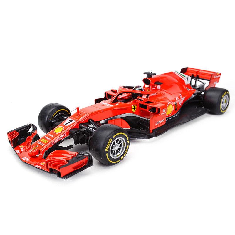 Bburago 1 18 2018 Ferrari Formule 1 F1 SF71H Kimi Raikkonen Diecast Car Model  7