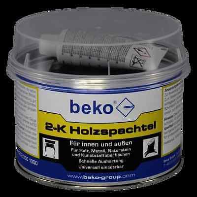 Herzhaft Beko 2-k Holzspachtel Innen Und Aussen 1kg Baustoffe & Holz Heimwerker