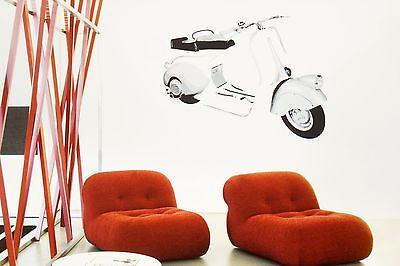 """Vespa Wand-dekor """"lampe Unten"""" 115x90cm Wandtattoo Wandbild Bild Decor V50 Geschickte Herstellung"""
