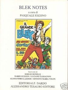 Archivio Comics n° 10 - IL GRANDE BLEK - Monografia + inediti - Tesauro - 1996