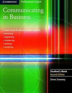 Cambridge-English-COMMUNICATING-IN-BUSINESS-2nd-Edition-Student-039-s-Book-NEW
