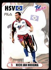 Nico Jan Hoogma Autogrammkarte Hamburger SV 2000-01 Original Signiert +A 96360