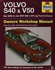 Volvo S40 & V50 Service and Repair Manual by Haynes Publishing Group (Paperback, 2015)